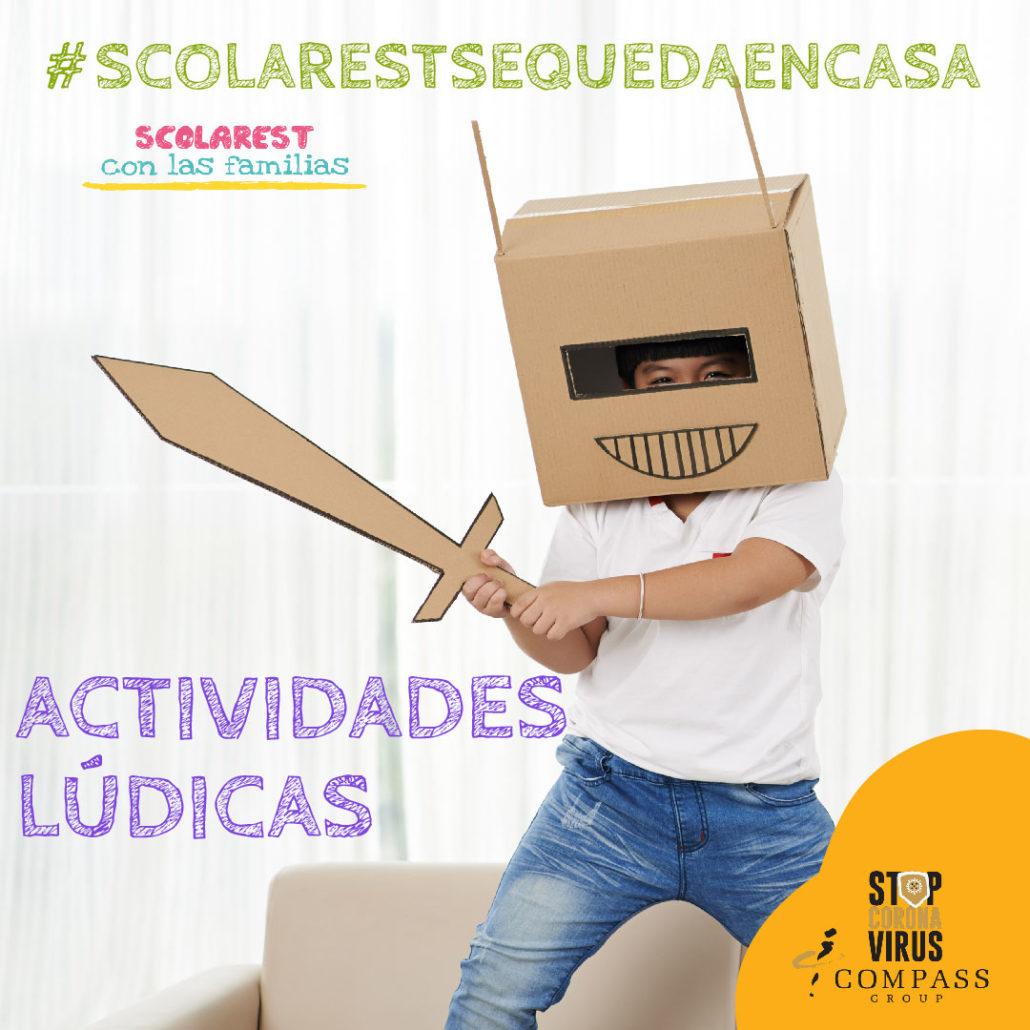 Actividades Scolarest 14 abril 2020