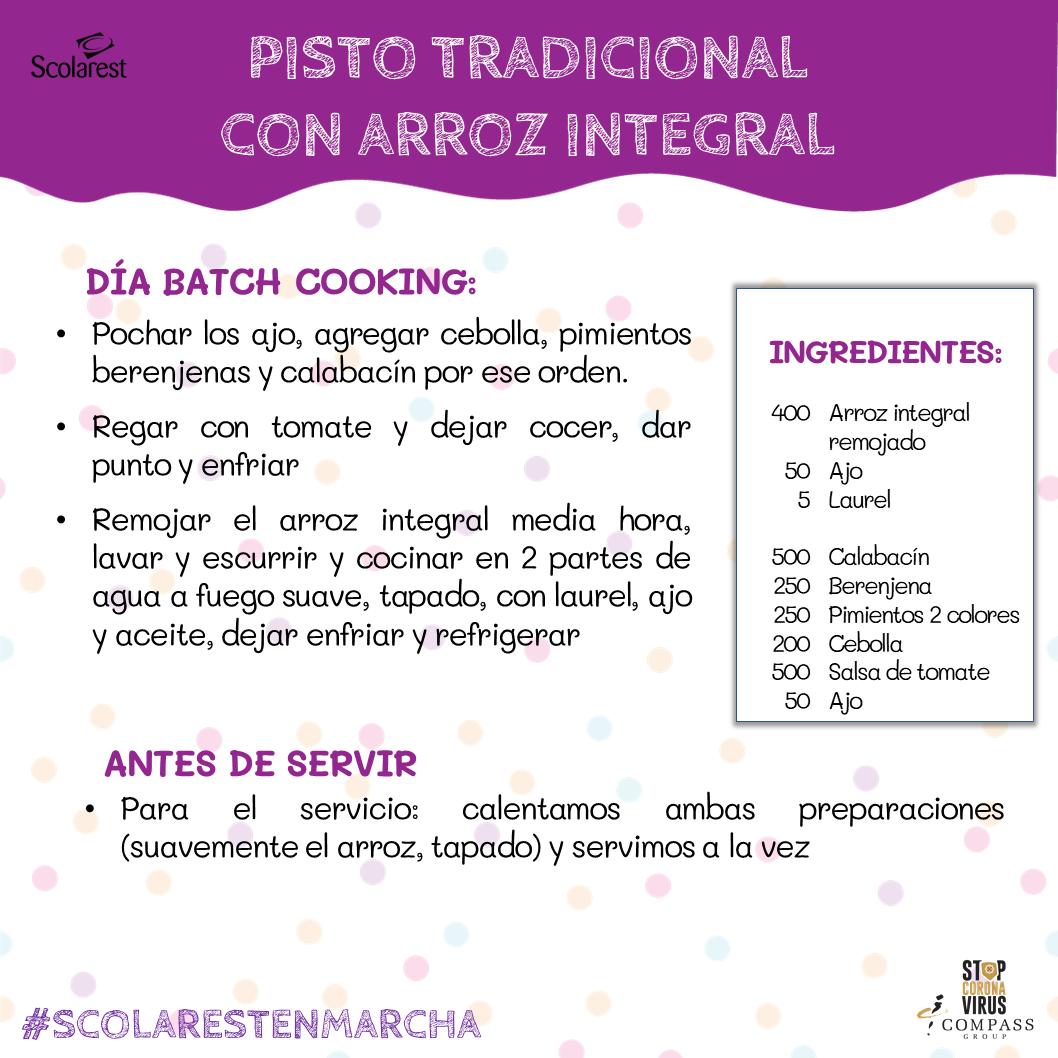 2- Batch Cooking del 16 al 22 de mayo