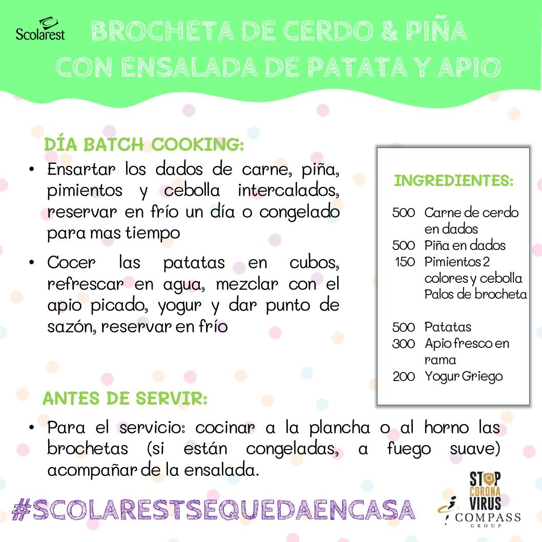 2 Batch Cooking del 9 al 15 de mayo