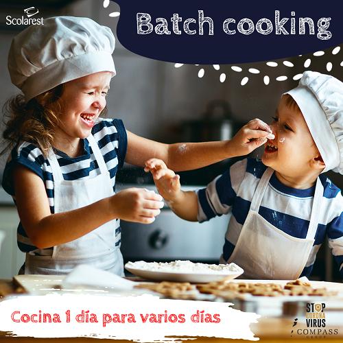 1 Batch Cooking del 9 al 15 de mayo