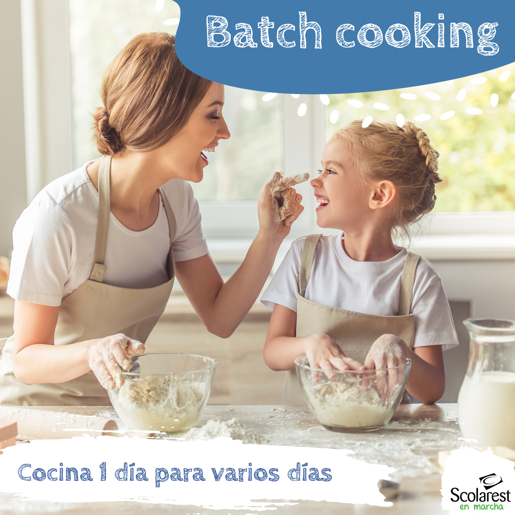 1- Batch Cooking del 30 de mayo al 5 de junio
