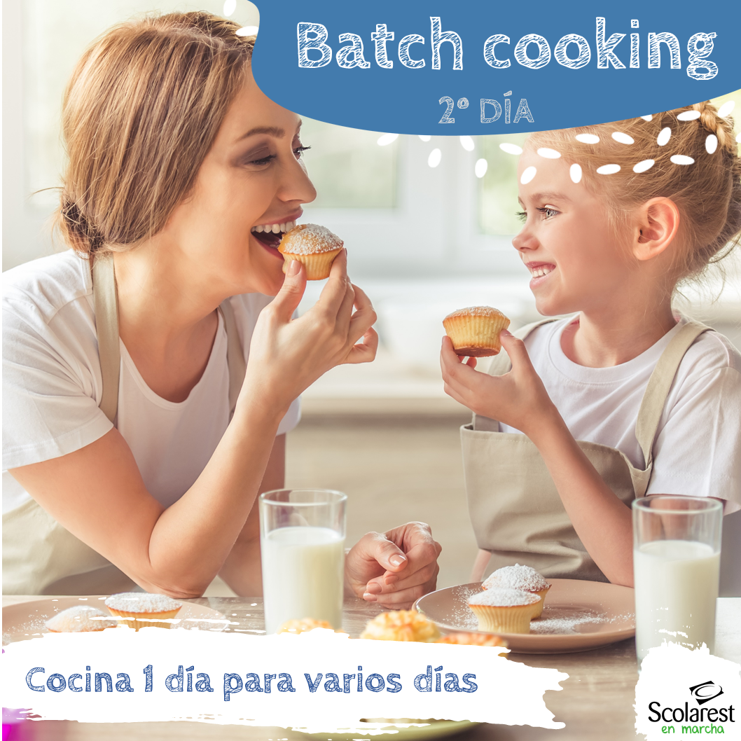 2- Batch Cooking del 30 de mayo al 5 de junio