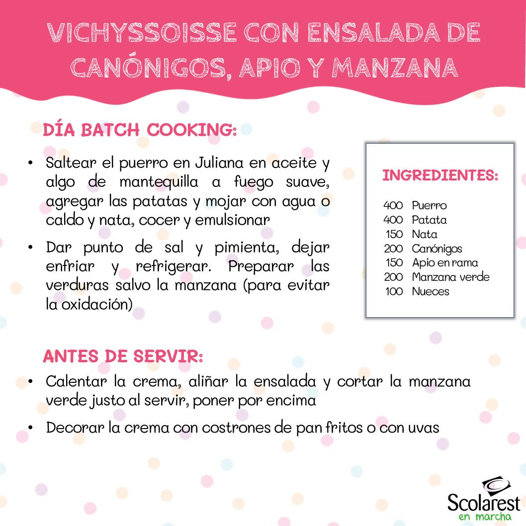 1- Batch Cooking del 6 al 12 de junio
