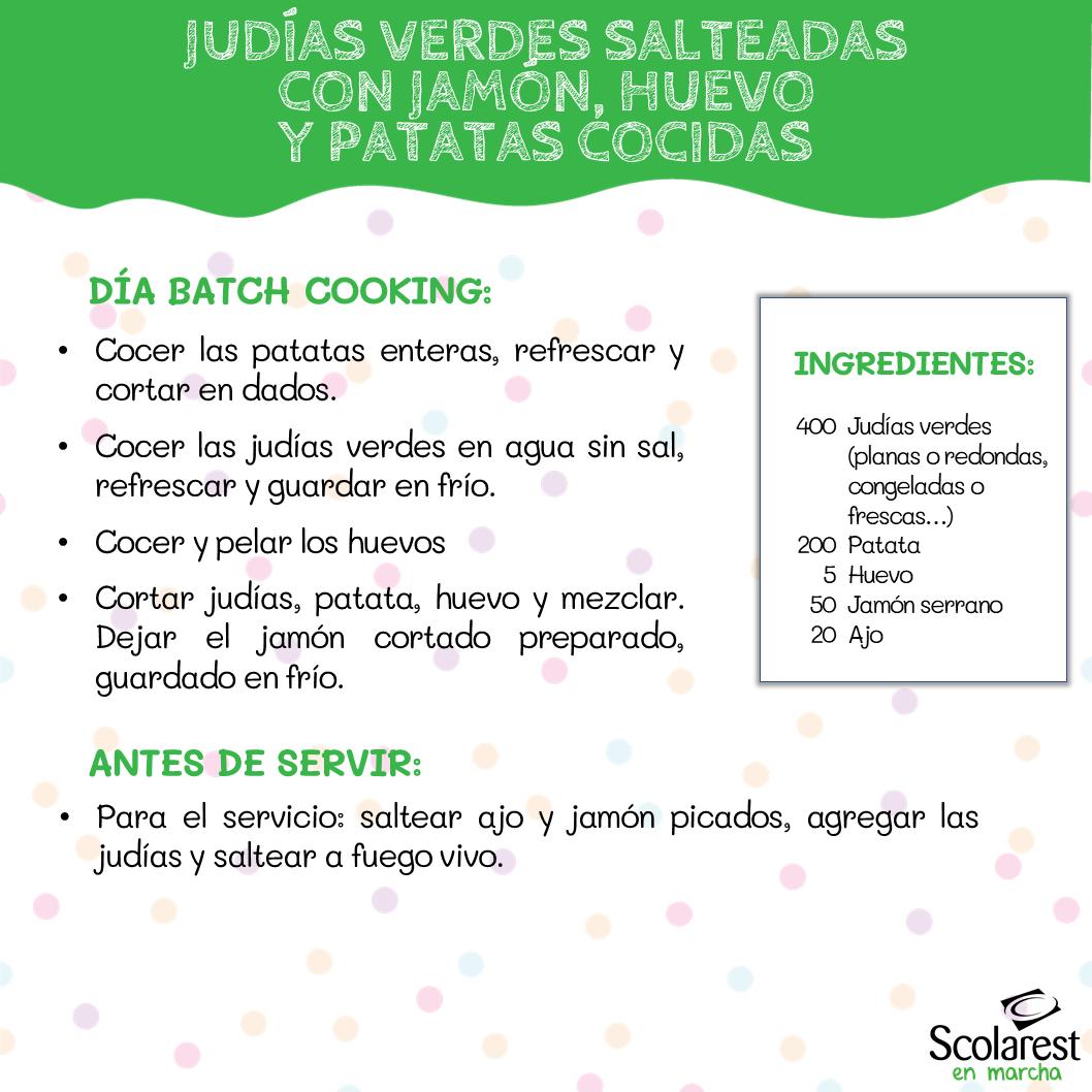 1- Batch Cooking del 30 de mayo al 5 de junio